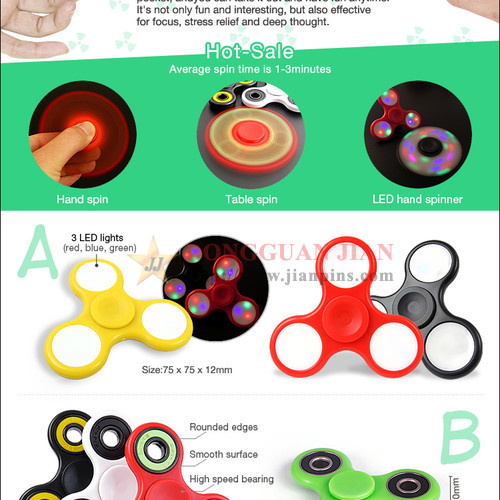 Hot-sale fidget spinner toy