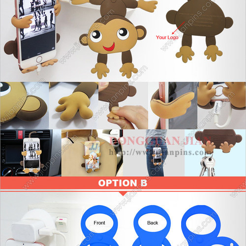 Hot Selling New Concept Silicone Phone Holder
