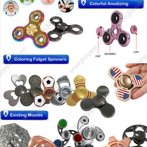 Innovated Qualified Custom-made Metall Fidget Spinner Von JIAN