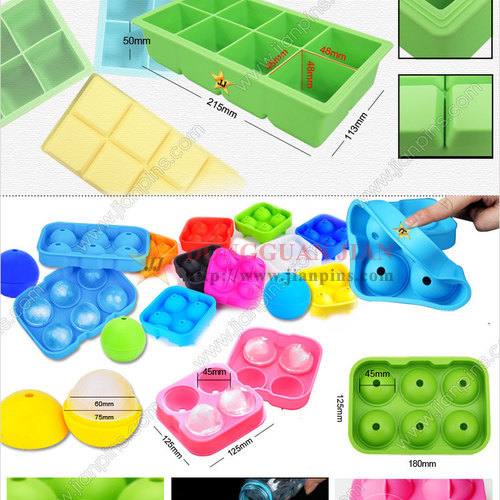 Food-grade Silicone Ice Cube Trays Available in JIAN