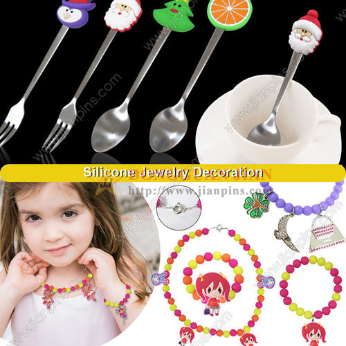 Lovely Silicone Key Covers, Towel Holders, Jewelry And Other Items From JIAN