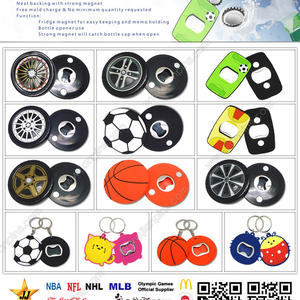 Top Quality Personalized PVC Bottle Openers For Sales Promotion