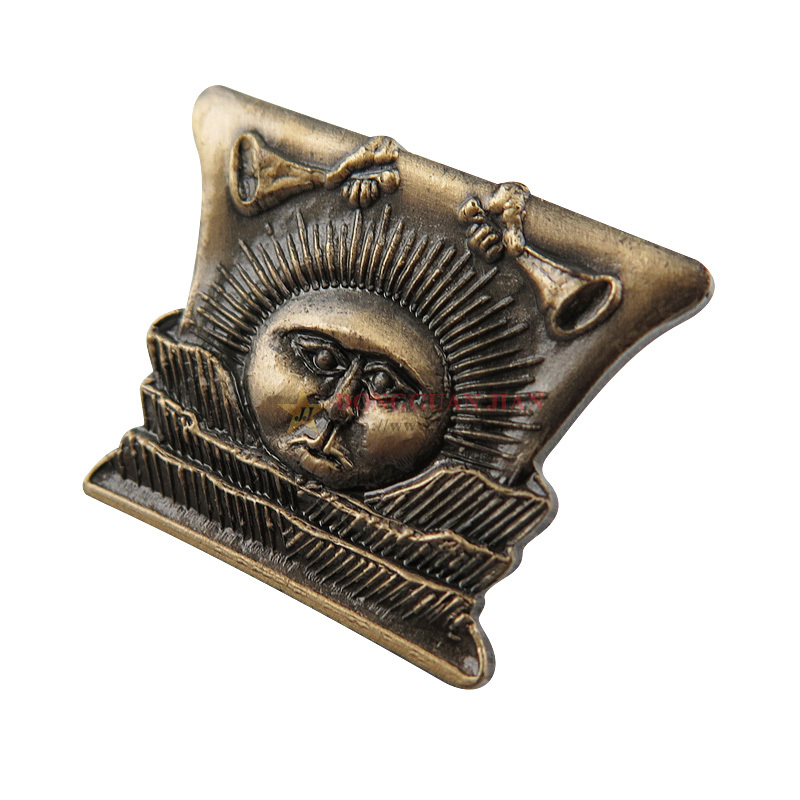 Zinc Alloy Antique Badges