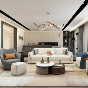 Leather Luxury Living Room furniture