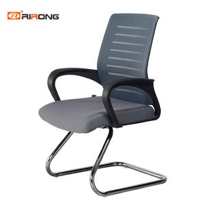 Black Grey fabric Office Mesh Chair
