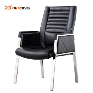Modern Black Conference Leather meeting chair
