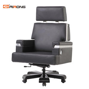 Black leather Office executive chair
