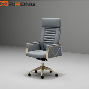 Office wood executive office swivel chair