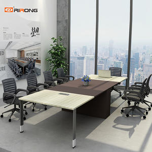 Custom Wooden Office Meeting table 8 person conference table