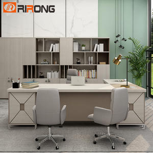 200cm Industrial Luxury Design Office Wood Furniture Executive Office Desk