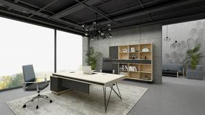 Geometry  L Shaped Office Works Desk