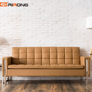 Custom Leather office sofa set