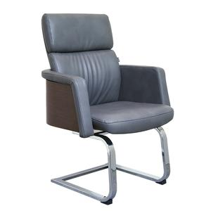 Executive Visitor Office Leather Wooden Conference chair