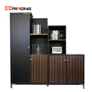 Office Executive Manger Low Hight Wooden filing cabinets