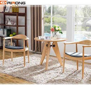 wood dining chair leisure chair