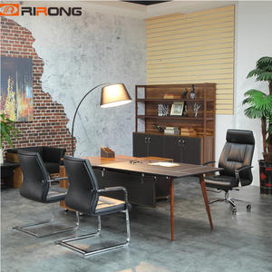 Wood L shaped Office Executive table