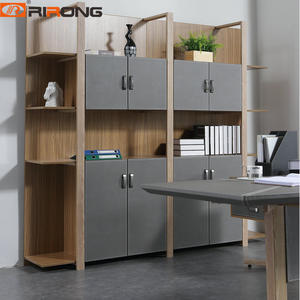 Nordic Design Gray Office Wood File Cabinet