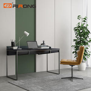 120 140cm Wooden Leather Home office Italy Design Small study table
