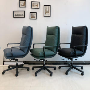 Director Leather executive Computer Study Room Home Office Chair