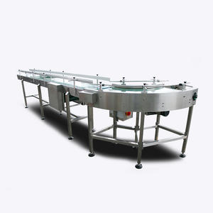 90 Degree Turning Belt Conveyor