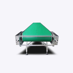 Inclined Chain Pvc Belt Conveyor