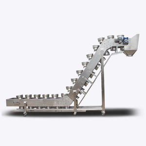 Inclined stainless steel Bowl Conveyor