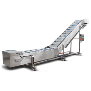Inclined Stainless Steel Bucket Conveyor