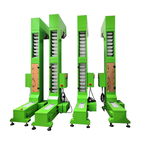 Z Type Green Painted Steel Bucket Elevator Supplier