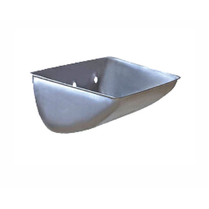 SS Shallow Integral Stamping Steel Bucket