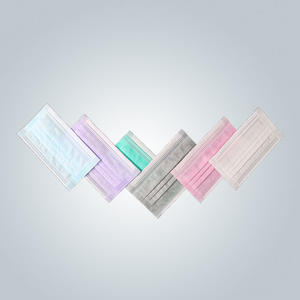 3-Ply Disposable face mask with good dustproof effect, light and breathable
