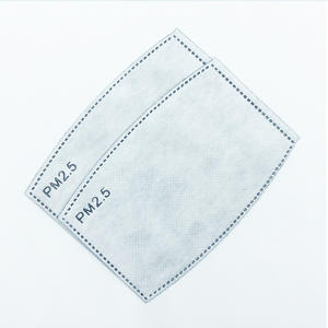 mask filter pm2.5 cotton mask pm2.5 filter for cloth mask scarf mask filter