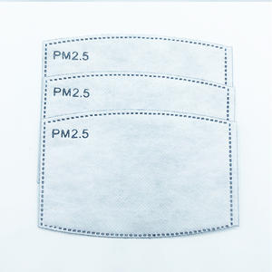 5 ply mask filter mask filter pm2.5 filter for cloth mask scarf mask