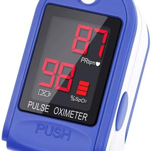 pulse oximeter led single color display blood oxygen pulse oximeter Fingertip  (SpO2)