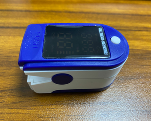 Fingertip Oxy Meter Blood Oxygen Pulse Oximeter Lk87