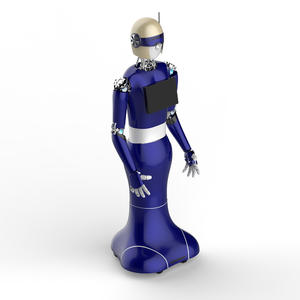 Welcome Robot can be used in various service industries