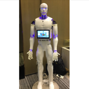 Humanoid Robot can provide convenient services for exhibition activities