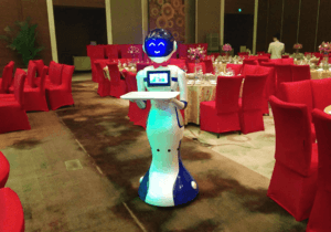 Highly intelligent Serving Robot professional manufacturer with favorable price