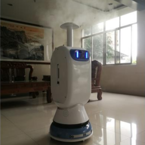 Work assistant robot Benben (Spray) is widely used in disinfection
