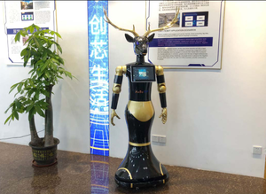 Guide robot Black Deer has a variety of application functions