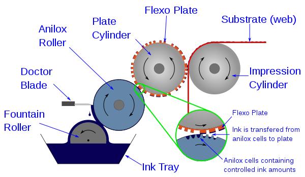 Что такое флексографическая печать?