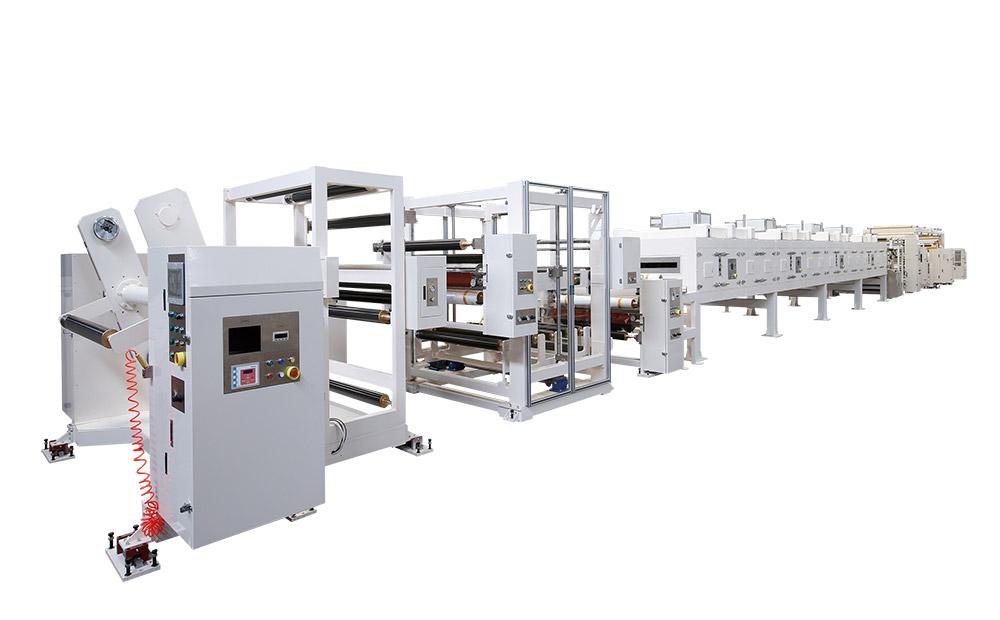 Solventless UV solidify Coating Machine