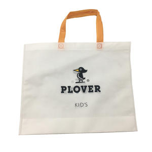 heat sealing non woven bag with die cut handle