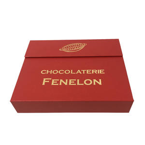 logo oem color oem 20pcs load gift chocolate box rigid chocolate box luxury chocolate box with paper in divider