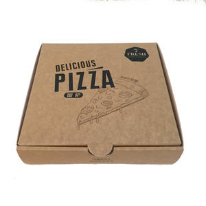 logo printing customize food grade cardboard lining corrugate pizza box