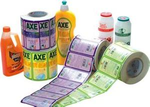 adhesive label print and production service