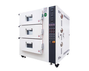 Three Layers Battery High Temperature Testing Oven
