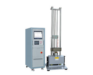 Application of pneumatic horizontal shock test system.
