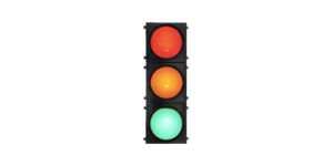 High Flux RYG Full Ball Traffic Light portable traffic light