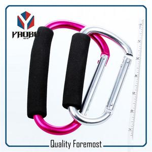140mm Aluminum Carabiner,Carabiner With Sponge