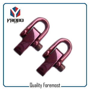 Colored Steel D Shackle,stainless steel Shackle for jewelry